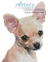 Mini Chihuahua Cross Stitch Pattern http://www.artecyshop.com/index.php?main_page=product_info&cPath=11_12&products_id=809