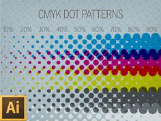 Free CMYK dot Patterns