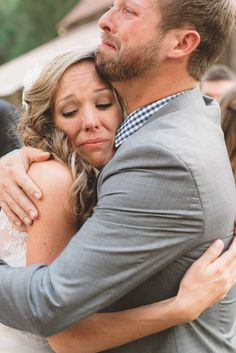 17 Times Wedding Photographers Captured Raw, Beautiful Emotion - These are so beautiful. The photo of the groom's face makes me remember my husband when we said our vows this past June. <3