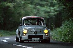 Classic Fiat 500 Abarth #fiat500 #abarth