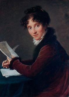 Élisabeth Louise Vigée Le Brun (French, Paris 1755–1842 Paris). Baronne de…