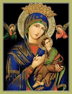 All about Mary. — Oh Mother of Perpetual Help, grant that I may ever. Blessed Mother Mary, Divine Mother, Blessed Virgin Mary, Mary Jesus Mother, Mother Mary Images, Images Of Mary, Jesus And Mary Pictures, Lady Madonna, Madonna And Child