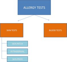 Test to find allergic reaction to food