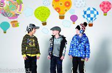 1* cartoon colorful Hot air balloon art Mural wall stickers Nursery Room sticker