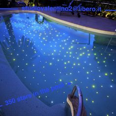 stars in the pool # tiles and mosaic# lights in the pool
