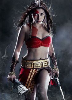 Female God of War Cosplay