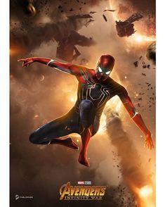 By Pablo Ruiz and @bosslogic #marvel #marvelcomics #ironman #avengers #infinitywar #tonystark #theavengers #spiderman #spidermanhomecoming…