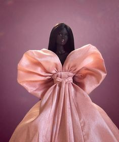 "ViCee R. on Instagram: ""Calla Lily 🖤 #integritytoys #fashionroyalty #nuface #nadjarhymes #lovetones #ITFW #fashiondollphotography #dollcollector #maisonvalentino"" Black Baby Dolls, Beautiful Black Babies, Brown Skin Girls, Black Barbie, Calla Lily, 50 Shades, Barbie Dolls, Valentino, Royalty"
