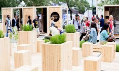 DESIGN/WOOD exhibition at Fashion & Design Festival by Tuxedo, Montreal exhibit design