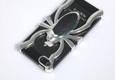 iPhone 5 Spider Case - silber