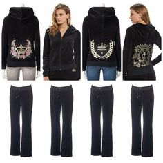 059aa1da979 NWT Juicy Couture Velour Tracksuit Women Embroidered Jacket Pants size  Medium  JuicyCouture  TrackSweatSuits Juicy