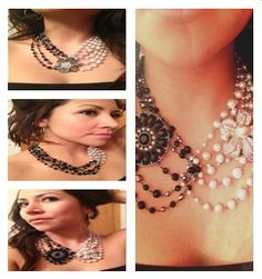 """Our Jewelers are SO creative!  Look at what you can do with long versatile necklaces like  """"Arabian Nights"""" & """"Lady Fair"""", also add pins.. """"Zinnia"""",""""""""Prissy"""" and """"Crochet""""  #PremierDesigns    Www.facebook.com/PDJkasey"""