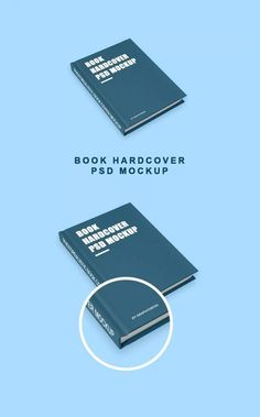 Free Simple Hardcover Book Mockup
