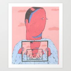 inocent Art Print by Mariana, A Miserável(the Miserable One) - $17.68