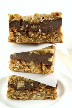 Chocolate Oatmeal Almost-Candy Bars Crazy Delicious Bars That Everyone Seems to Love!