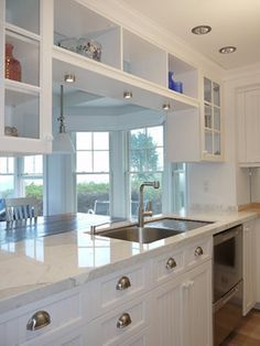 Open Galley Kitchen With Island opening up a galley kitchen in a rowhouse or apartment | galley