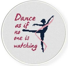 Looking for your next project? You're going to love Dance Cross Stitch Pattern by designer teamembro3703945. - via @Craftsy