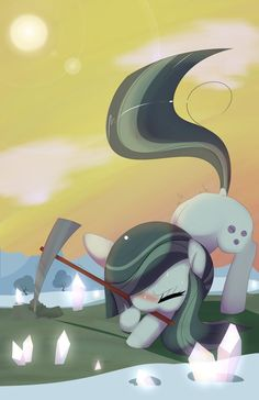 Marble Pie, Hard at Work My Little Pony Cartoon, My Little Pony Pictures, Marble Pie, Rock Family, Mlp Characters, Little Poni, Mlp Comics, Imagenes My Little Pony, Mlp Pony