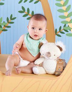 Koala Plush and Bib Gift Set