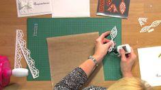 Craft Dies by Sue Wilson -- Tutorial Video; White Wedding Card for Creat...