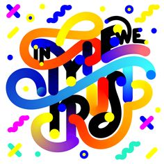 In type we trust, typographic experiment by Andrei Robu, www.robu.co