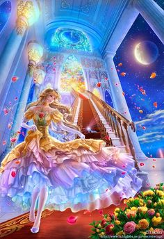 Most popular tags for this image include: cinderella and anime girl Fantasy Girl, 3d Fantasy, Fantasy Kunst, Fantasy Artwork, Manga Anime, Anime Art, Arte Sailor Moon, Anime Lindo, Beautiful Fantasy Art