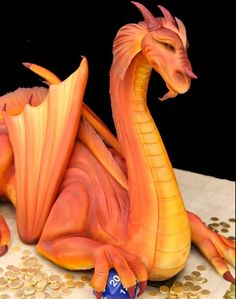 Dragon grooms cake?!  I'd want this for my own! Cake by Mike's Amazing Cakes in Redmond, WA!