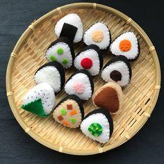 Felt Crafts Diy, Food Crafts, Felt Diy, Cute Crafts, Sushi For Kids, Felt Food Patterns, Felt Cupcakes, Felt Play Food, Barbie Food