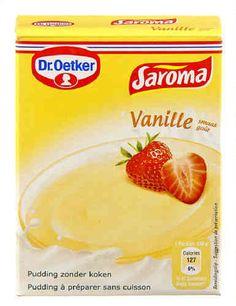 DR OETKER SAROMA pudding vanille 74 g
