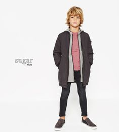 Noahn from Sugar Kids for ZARA Kids FW 2016.