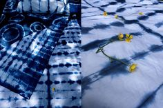 Kim Poler shares this fantastic Shibori Bedding DIY. Grab a plain sheet set, some dye and some rubber bands & beautiful bedding is only a few steps away!