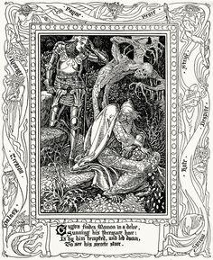 Spenser's Faerie Queene - Walter Crane 8