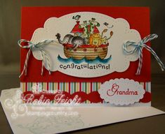 Congrats Grandma by Robin Lee - Cards and Paper Crafts at Splitcoaststampers