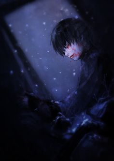 Kaneki Ken || there is something pathetic in white snowflakes upon the dark sky...