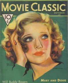 Loretta Young on the cover of Movie Classic, 1931.