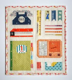 Desktop Sampler Quilt Tutorial