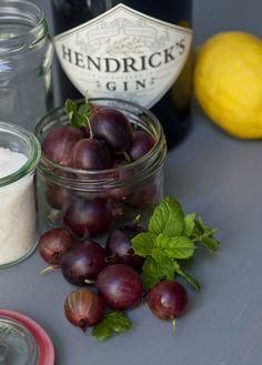 Stachelbeer-Marmelade mit Gin