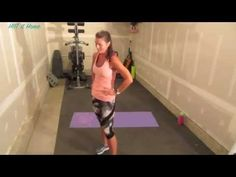 Anna's HIIT Workout #64 HIIT To Be Fit - YouTube