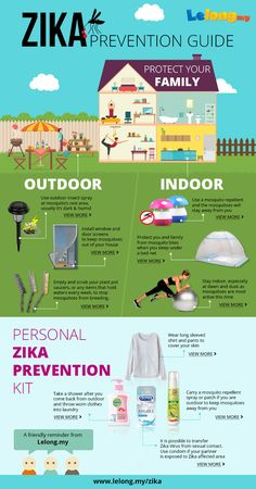 ZIKA Prevention Guide brought to you by Lelong.my