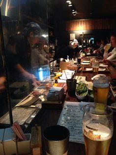 Low-key Yakitori bar in Kyoto.