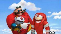Knuckles and Dr. Eggman by Doctor Eggman, Anime Lips, Sonic Boom, Baddies, Ronald Mcdonald, Sonic The Hedgehog, Weird, Deviantart, Cute
