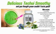 How to make Iaso Techui Smoothy. www.totallifechanges.com/sandrak