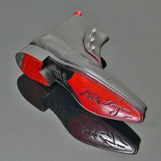 Lugosi - 'Gargoyle' Skull Spat Boot