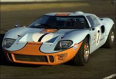Ford GT40. Gorgeous. Sadly, I'm too tall to ever drive one.