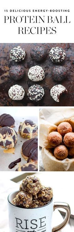 Protein balls are as great for you as they are great tasting. Discover 15 of our favorite recipes here.