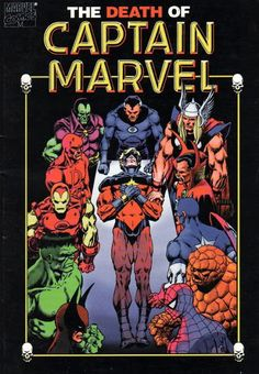 Marvel Comics of the 1980s: 1982 - The Death of Captain Marvel