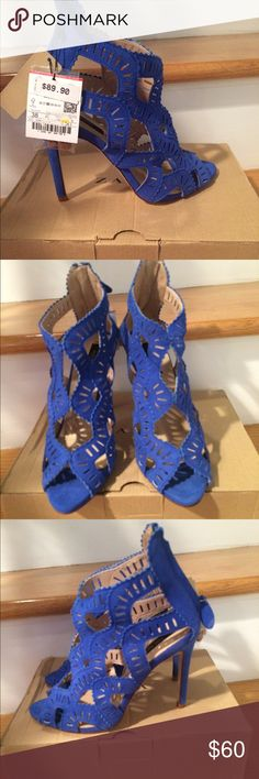 Zara Sandal Gorgeous blue Sandal New with tags! Zara Shoes Sandals