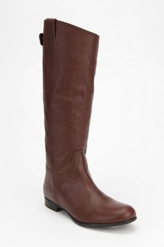 $99 BDG Tall Leather Boot  #UrbanOutfitters