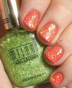 Milani Sugar Coated Gold Label Spring Collection 2014 swatch
