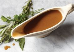 Parsley, Sage, Rosemary and Thyme Gravy | Vegetarian Times